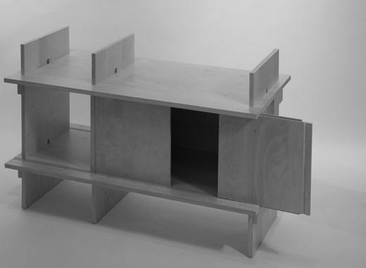 アンジェロ・マンジャロッティ ジュニア 3003 サイドボード 組み立て方