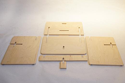アンジェロ・マンジャロッティ 組み立て家具シリーズ ジュニア