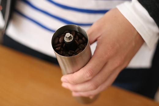 ポーレックス コーヒーミル 豆