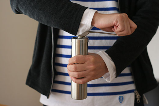 ポーレックス コーヒーミル グラインド 2