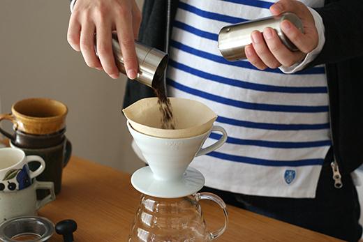 ハリオ ドリッパー コーヒー豆