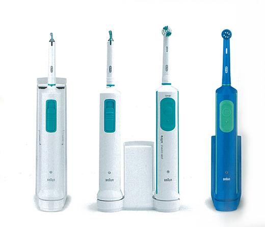 BRAUN 電動歯ブラシのデザイナーの傑作モデルが復刻