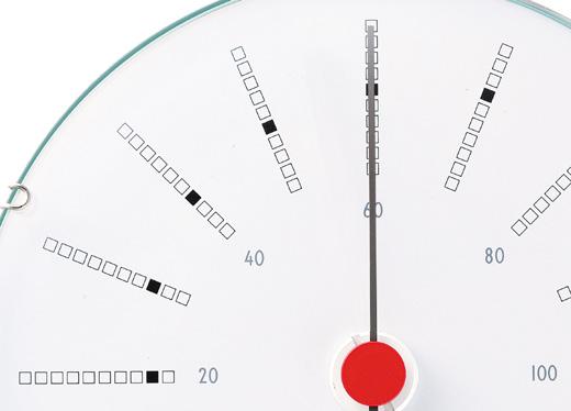 AJBK湿度計_文字盤