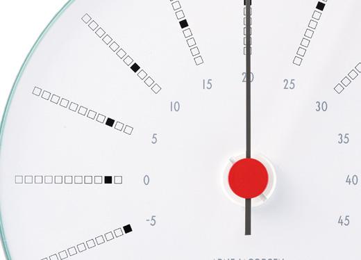 AJBK温度計_文字盤