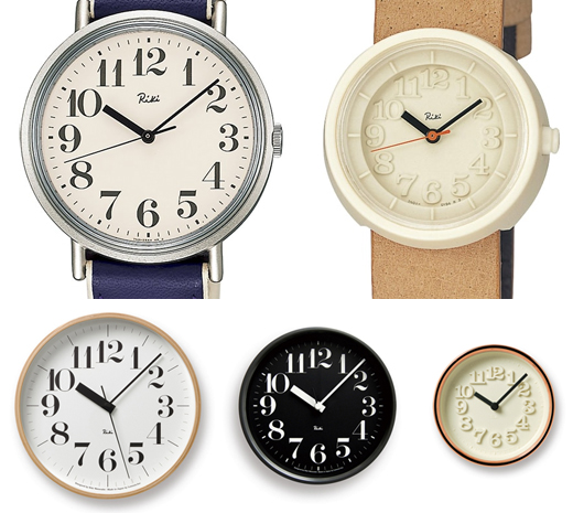 af9d5f2f60 クロックだと、リキクロック・スチールクロック・小さな時計などに使用されていて、 リキワタナベコレクションの象徴的なロゴタイプになっています。