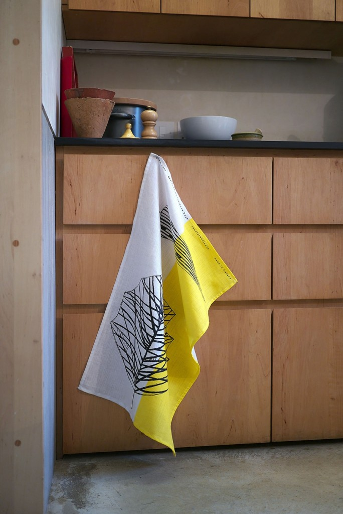 キッチンでの手拭きとして