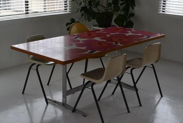 marimekko Metal-base Table